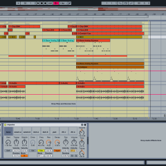 Plaid ii: Original Electronic Music Track + Ableton Template