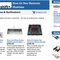 New Online Store For Electronic Musicians Launched!