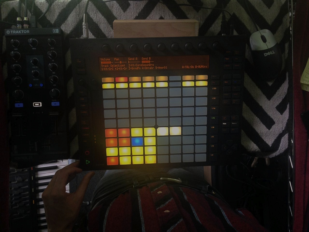Ableton Push, New Album in the Works + Vero's Cooking